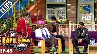 Dr. Gulati with her daughter on Yuvraj Singh - The Kapil Sharma Show - Ep.45 -24th September 2016