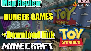 MINECRAFT - PS3 - TOY STORY HUNGER GAMES MAP REVIEW + DOWNLOAD LINK ( PS4 )