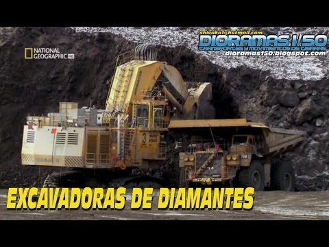 SUPERESTRUCTURAS- Excavadoras de Diamantes (National Geographic)