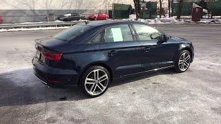 2018 Audi A3 Sedan Summit, Short Hills, Livingston, Westfield, Maplewood, NJ MDF9060L
