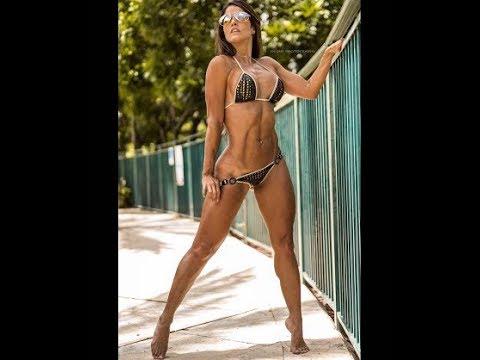 Tatiana Ussa Girardi sexy bodybuilder