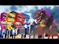 Minecraft | Good vs Evil - POWER RANGERS SAVE THE CITY! (Godz...