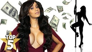 Top 5 CARDI B Facts You Should Know...  Before Fame