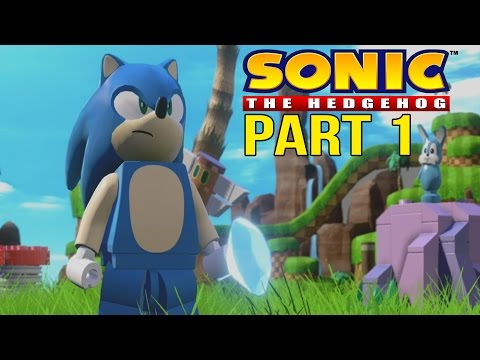 LEGO Sonic Walkthrough Part 1 - LEGO Dimensions Sonic The Hedgehog Level Pack