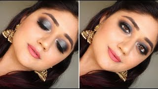 My Diwali Makeup with SUGAR | corallista