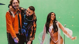 French Montana - Writing on the Wall ft. Post Malone, Cardi B, Rvssian [Behind The Scenes]