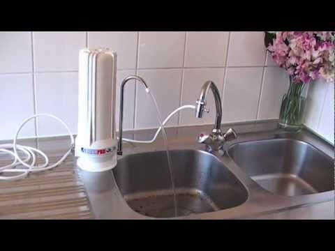 installation du purificateur d 39 eau sur vier navoti. Black Bedroom Furniture Sets. Home Design Ideas