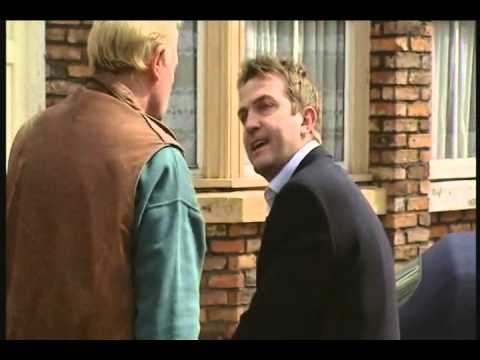 Coronation Street Danny Punches Les.wmv