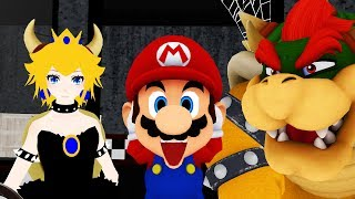 Bowsette Mario And Bowser In A Nutshell Animated SFM