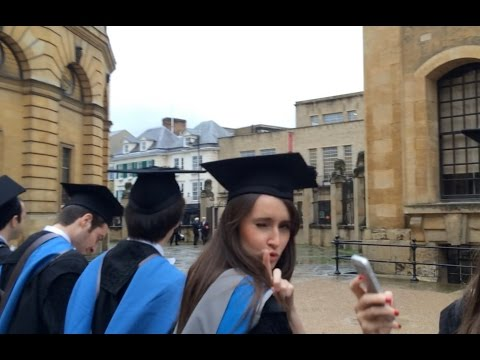 Oxford University graduation 2015