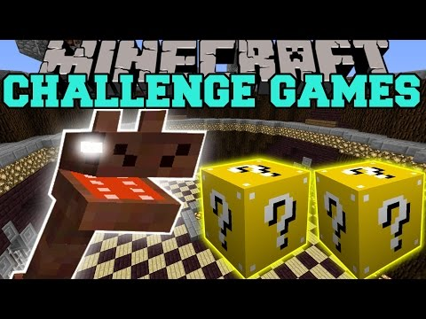Minecraft: SEA MONSTER CHALLENGE GAMES - Lucky Block Mod - Modded Mini-Game