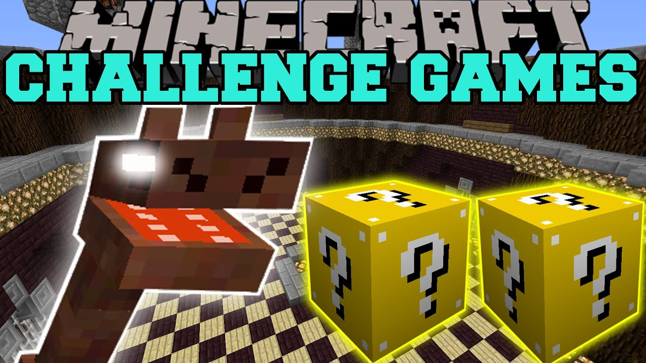 Minecraft sea monster challenge games lucky block mod modded mini