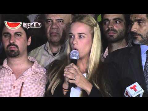 Reacciones tras conocer sentencia Leopoldo López y declaraciones Lilian Tintori