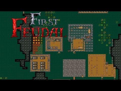 Unser eigenes Königreich! - First Feudal Gameplay - Angezockt