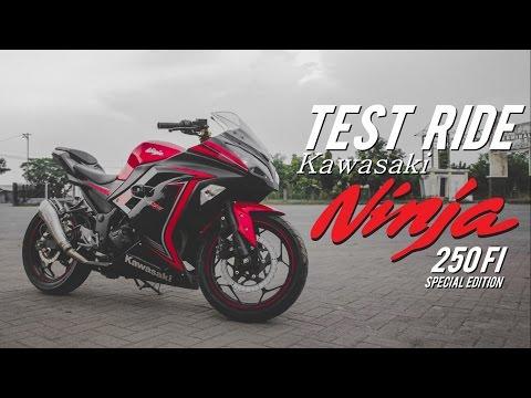 TEST RIDE Kawasaki NINJA 250FI Special Edition - Motovlog Indonesia #14