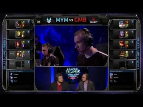 LCS Summer W5D1G2 - MyM vs GMB (русский комментарий)