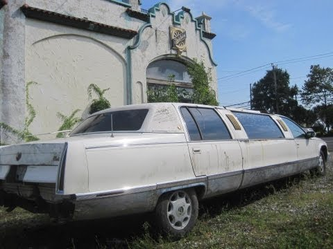 Abandoned Limousine & Vacant Studebaker Dealership - NJ