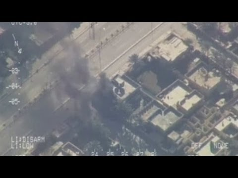Iraqi air force strikes al-Qaeda-linked militants in Anbar Province