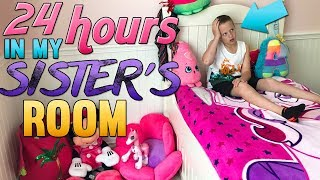 24 Hours in My Sister's Room