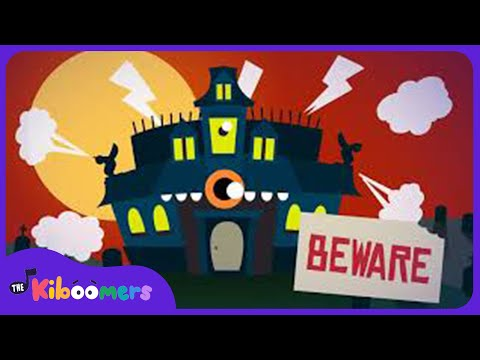 Monsters Stomp Around The House  Halloween Songs for Kids  The Kiboomers