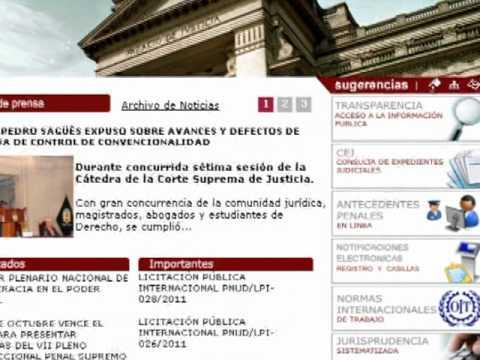 Presentan servicio para tramitar en línea certificado de antecedentes penales