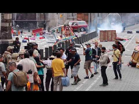 Filmación de Godzilla en México
