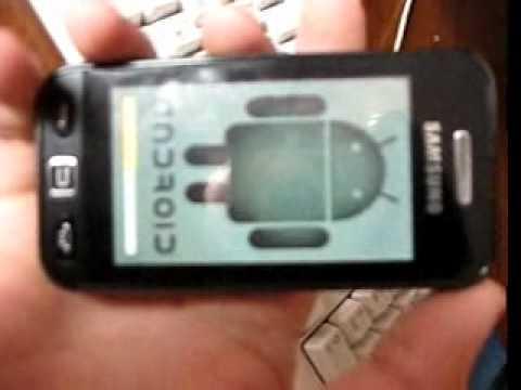 Как прошить телефон Samsung gt-s5230