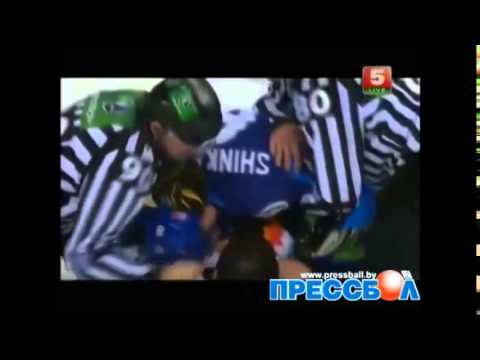 ТОП-6 ДРАК ХК Динамо-Минск 2013-2014 | Top 6 fights HC Dynamo-Minsk 2013-2014