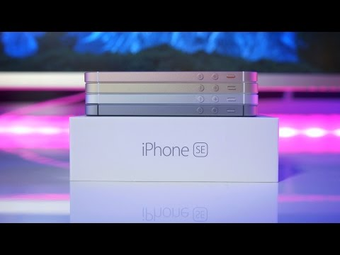 IPhone SE - Unboxing Every Color