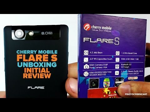 Cherry Mobile Flare S Unboxing and Initial Review 1.3GHz MT6582 Quad Core. PHP 4.499