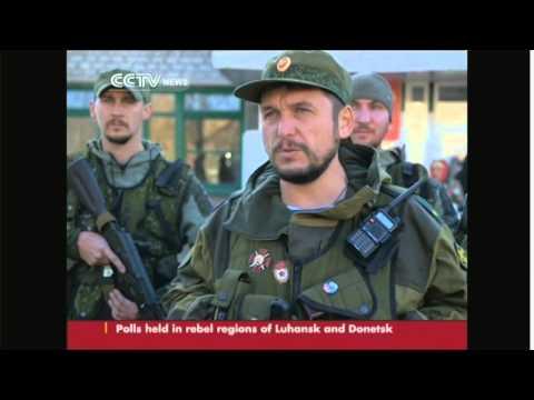 Polls held in rebel-held regions of Luhansk and Donetsk