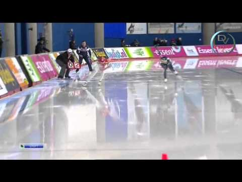 Olga Fatkulina & Sang-Hwa Lee 500m, Calgary 2013, 2nd round