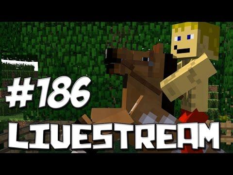 LIVESTREAM #186 Minecraft Com Inscritos & Babyfac3 :D