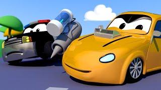 đội xe tuần tra - TÊN PHÁ PHÁCH Tyler lấy cắp ĐỘNG CƠ PHẢN LỰC - Thành phố xe 🚗 phim hoạt hình về