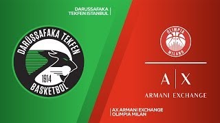 Darussafaka Tekfen Istanbul - AX Armani Exchange Olimpia Milan Highlights | EuroLeague RS Round 7