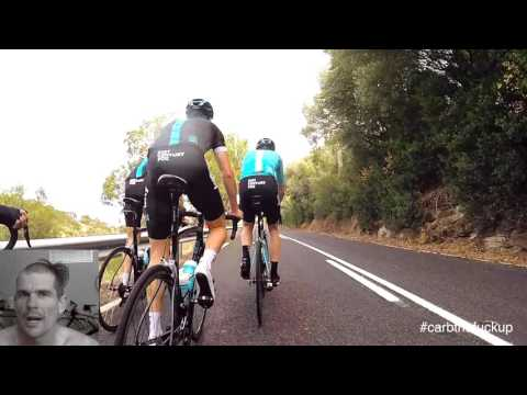 Chris Froome Training In Adelaide