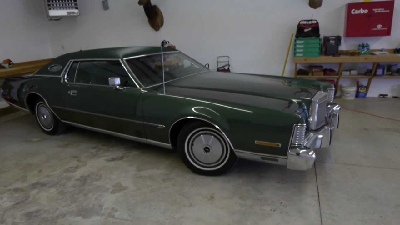 1973 Lincoln Continental Mk Iv Test Drive Youtube