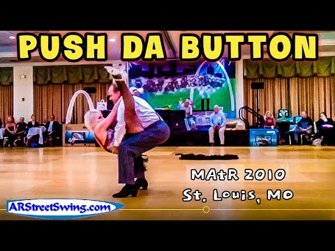 "Mike & Kim Nelson (ARStreetSwing.com) performing an Exhibition to Push da Button at ""Rollin on the Rivers 2010"" in St. Louis, MO. (http://www.facebook.com/ar..."