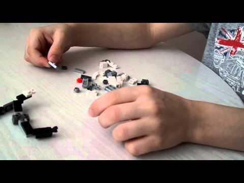 Как из лего сделать мангал из