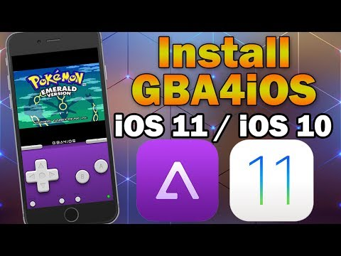 Install GBA4iOS Gameboy Emulator on iOS 11 / 10.0 - 10.3.3 (No Jailbreak / No PC) iPhone/iPod/iPad