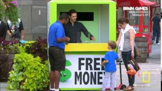 Brain Games- Free Money Experiment (Watchful Eyes)