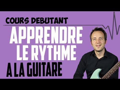 cours de guitare débutant : comment apprendre le rythme à la guitare ?