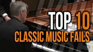 Top 10 Classic Music Fails Dailytube