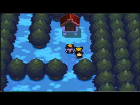 Pokemon Soul Silver/Heart Gold - Evento De Pichu Picoreja  (+ AR Code)