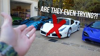 This is why I don't have a Ferrari!