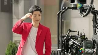 [VIDEO] 160629 Song Joong Ki - Tencent China CF Making Film