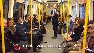 Strangers on Perth Train Burst into Singing Bob Marley.