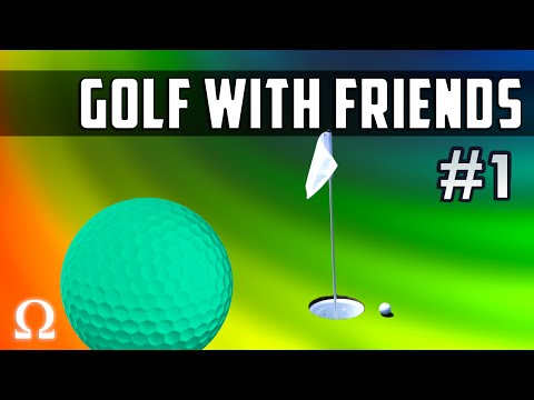 REMEMBER TO TAP THE BALLS GENTLY! | Golf With Friends #1 Newbie Moments Ft. Wildcat, Nogla, Moo