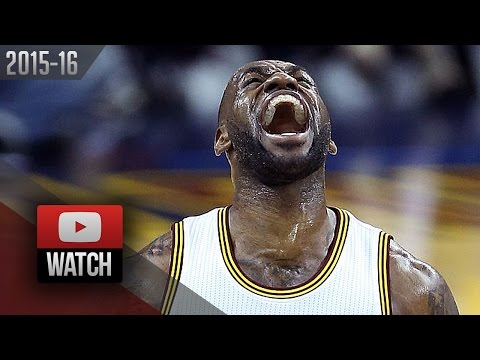 LeBron James Full Game 1 Highlights vs Raptors 2016 ECF - 24 Pts, BEAST Mode!