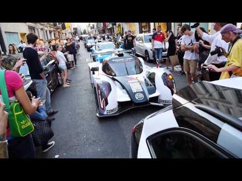 Gumball 3000 - Gumball - Gumball London - Ferrari - Lamborghini - sports cars - Gumball 2014